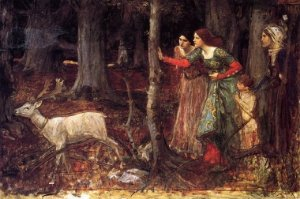john-william-waterhouse-the-mystic-wood