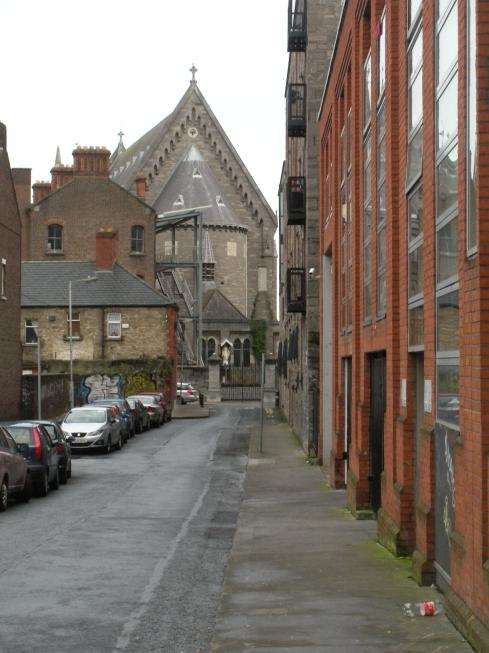 Typical Dublin street