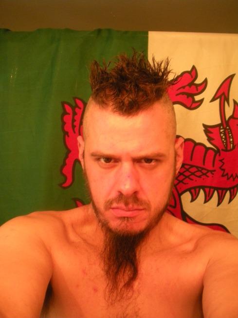 dragon, hair