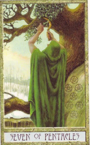druidcraft tarot, copyright Will Worthington