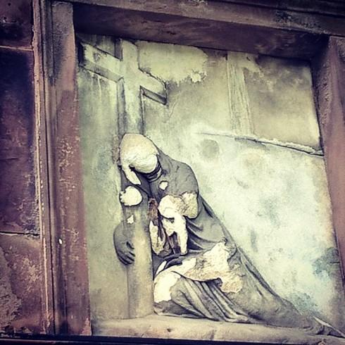 Ghost Cross Grave