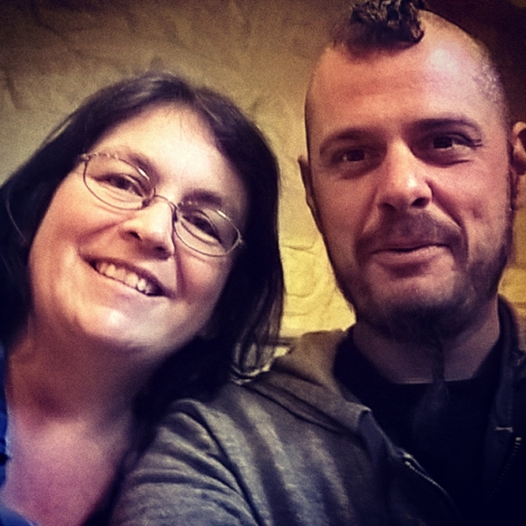 Yvonne Aburrow & I
